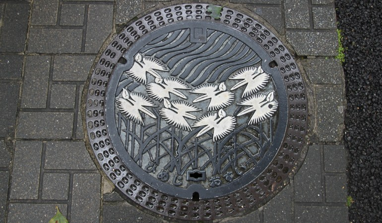 """Japan's """"Kawaii"""" manhole covers"""