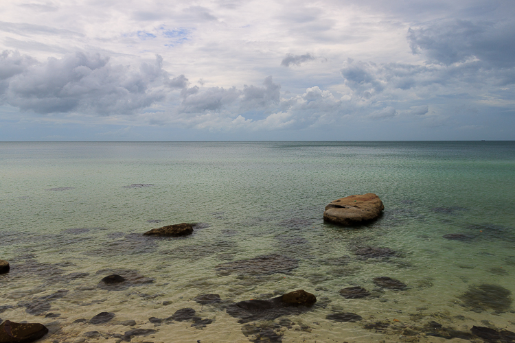 Clear blue waters around Phu Quoc make for excellent snorkeling