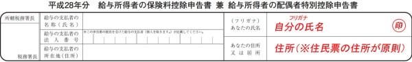 保険控除申告書_平成28年分001_例01