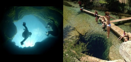 The mysterious Swimming Hole in Texas has deep dark secrets in its depths