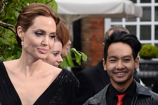 Angelina Jolie adopted first child in 2002