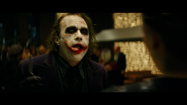Heath Ledger in joker