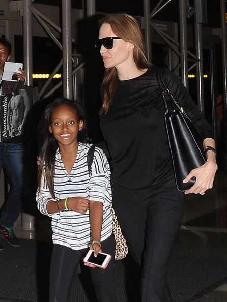 Second adoption of Angelina Jolie