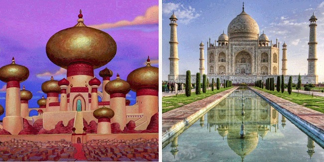Aladdin, The Taj Mahal India