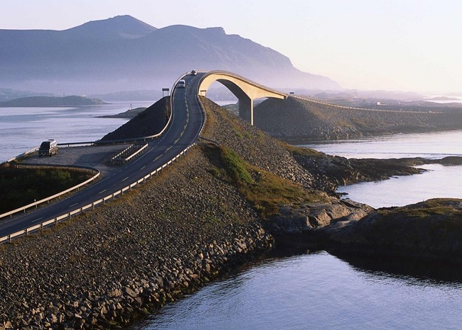 The Storseisundbrua, Atlantic Highway, Norway