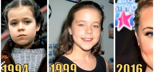 You wouldn't believe how this young 90s actress looks today