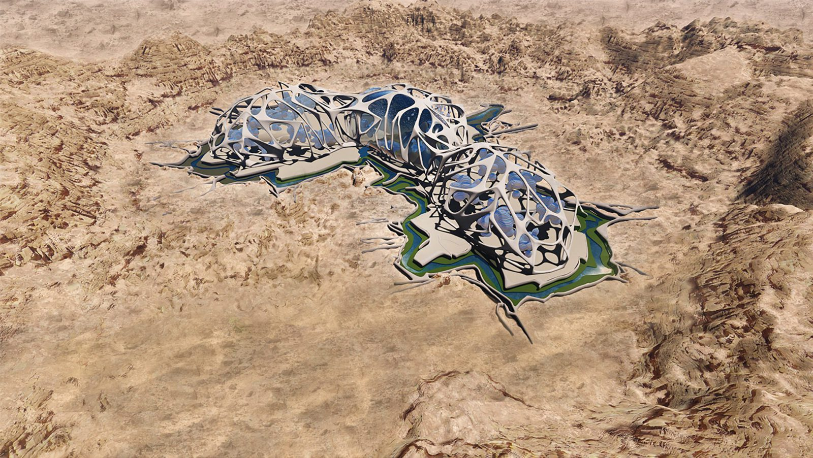 3D Printed Martian Cities May Soon Be Coming to the Mojave Desert