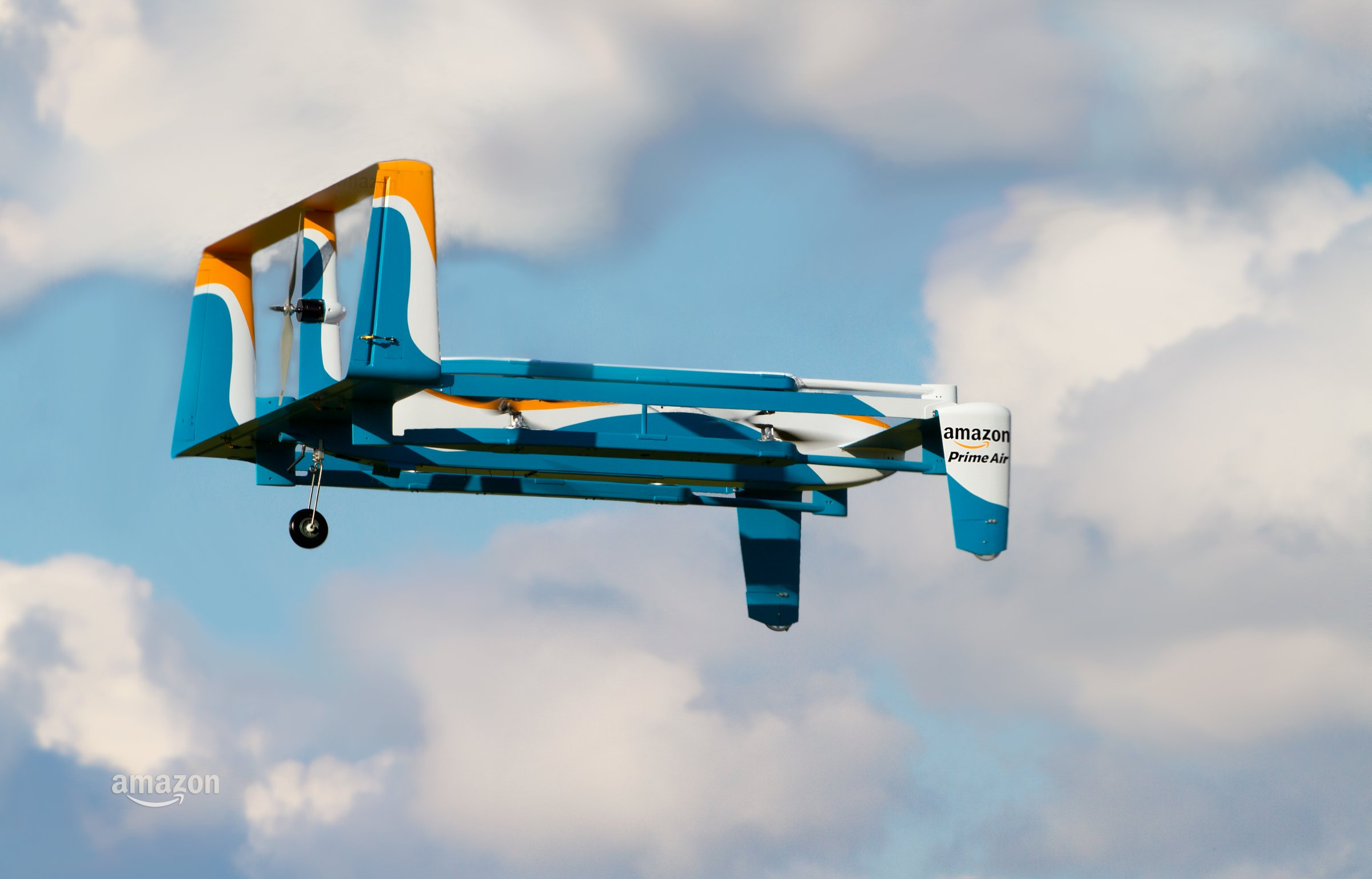 Cambridge's Amazon is Home to a Delivery Drone Lab