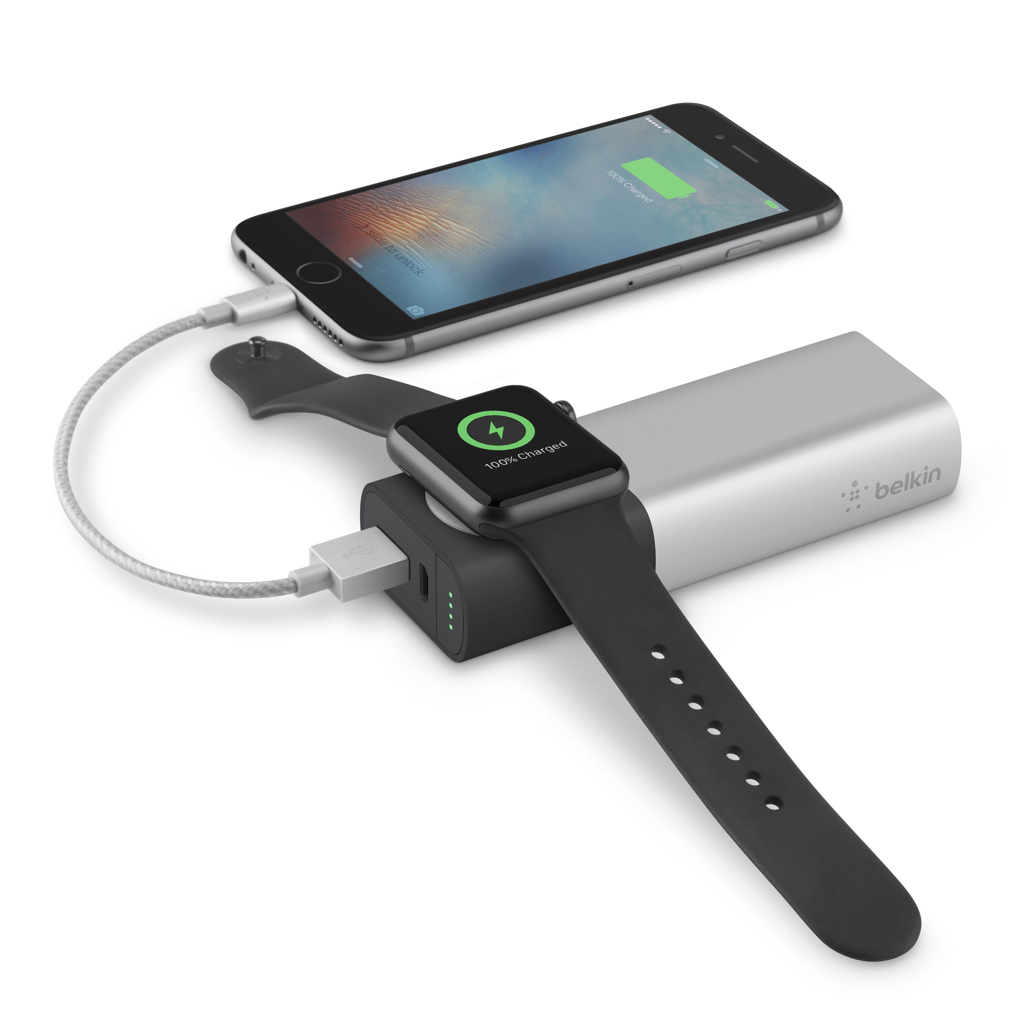 Charge Your iPhone and Apple Watch Together With Belkin's New Charger