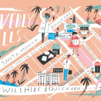 Libby Vanderploeg Cute Illustrated Maps