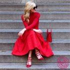 Red Means Perfect, или с чем носить красное платье?
