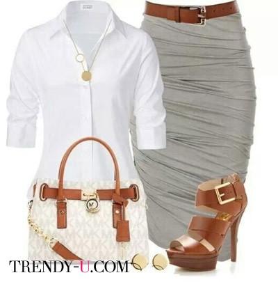 Серый, белый, коричневый