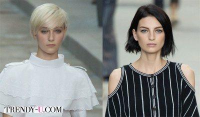 Стрижки боб: на короткие и подросшие волосы весна-лето 2015