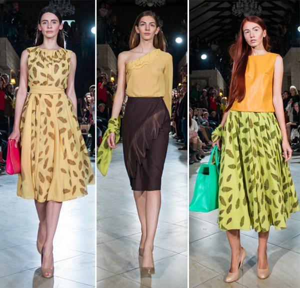 Платье, блузка, топ и юбки от КЕКА осень-зима 2016-2017