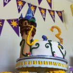 Rapunzel Customized cake
