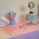 Hot Balloon themed baby shower