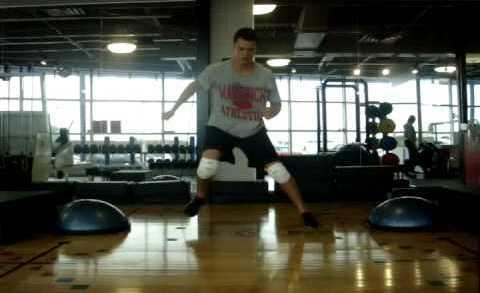Brankařský Off Ice trénink – Jeremie Dupont