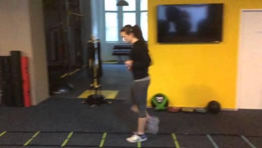 Tennis Agility Drills – Jess Maleckova
