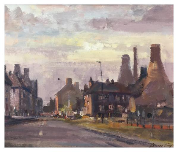 Uttoxeter Road, Longton Ivan Taylor