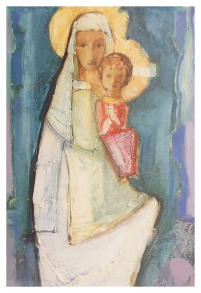 Virgin & Child, Tadeusz Was