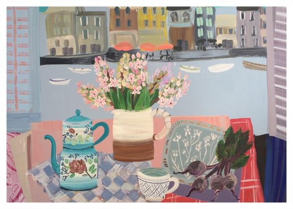 Hyacinths Honfleur, Emma Williams