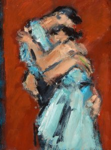 Embracing Couple, Ghislaine Howard