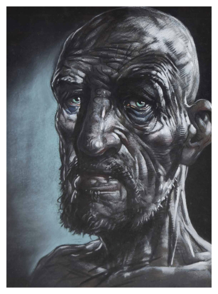 Howson, Peter OBE (1958 – ) Portrait of a Bearded Man
