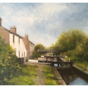 Brammeld, David ( ) – Canal Reflections, Scholar Green