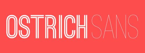 Ostrich-Sans