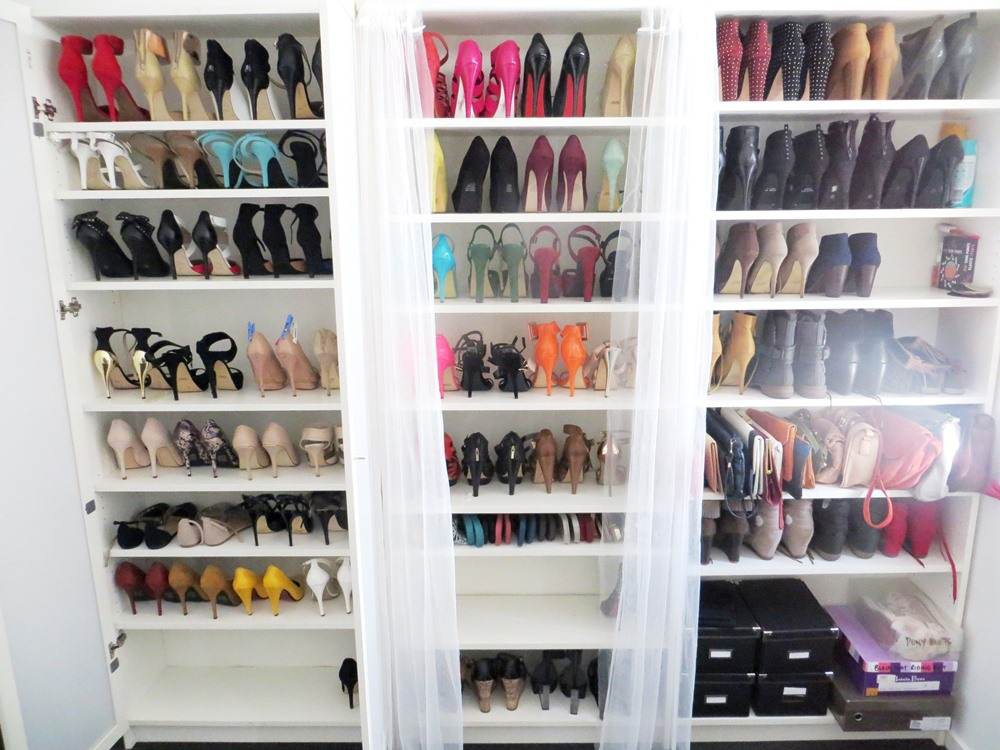 There Are Many People Using The Billy Bookcase For Shoe Storage As  Evidenced In These Pictures. Are You Shoe Obsessed, Too? How Do You Store  Your Shoes?