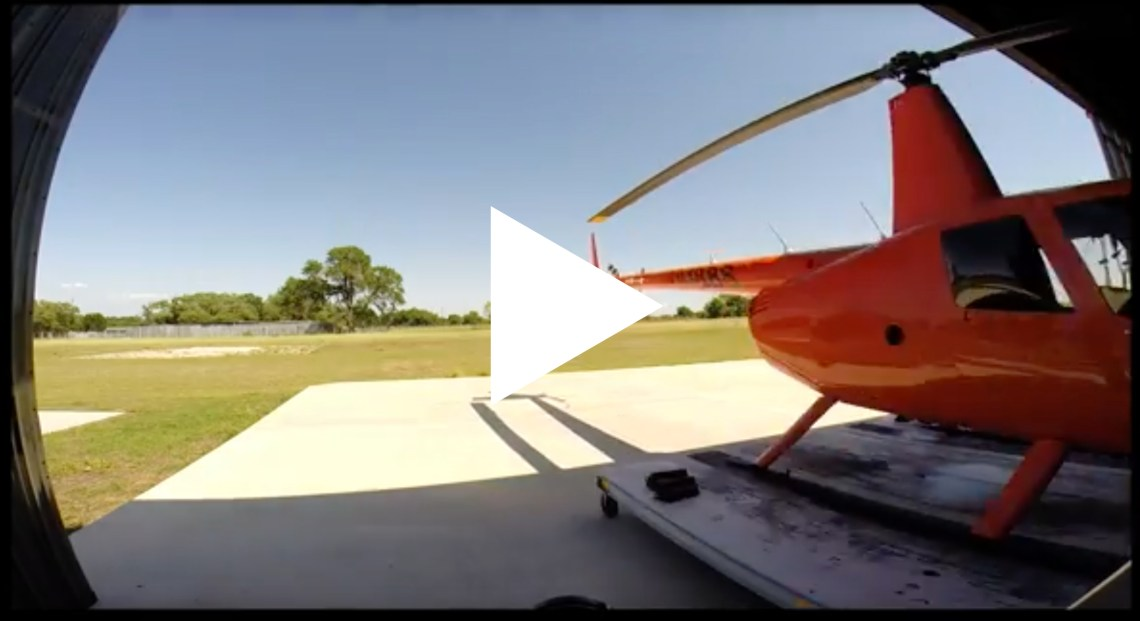 Tribeza Takes a Helicopter Ride