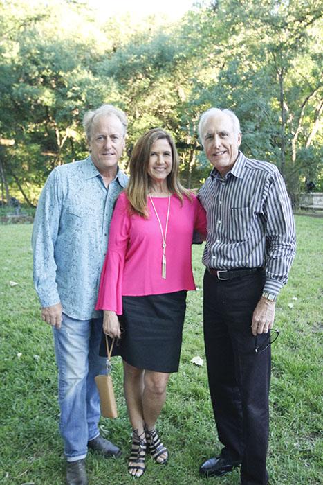 Macon Foster, Jennifer Anthony & Chuck Sack