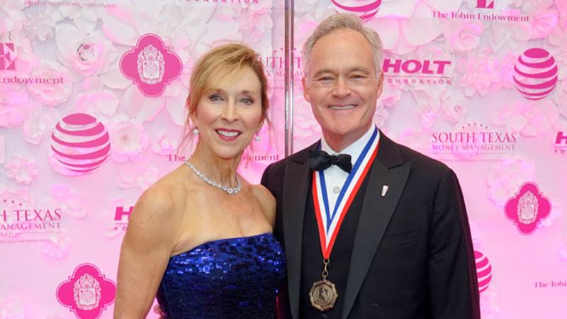 Jane Boone Pelley & Scott Pelley