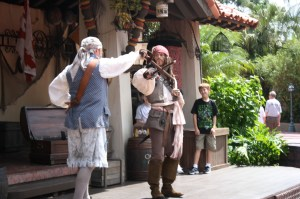 Jack Sparrow at Walt Disney World