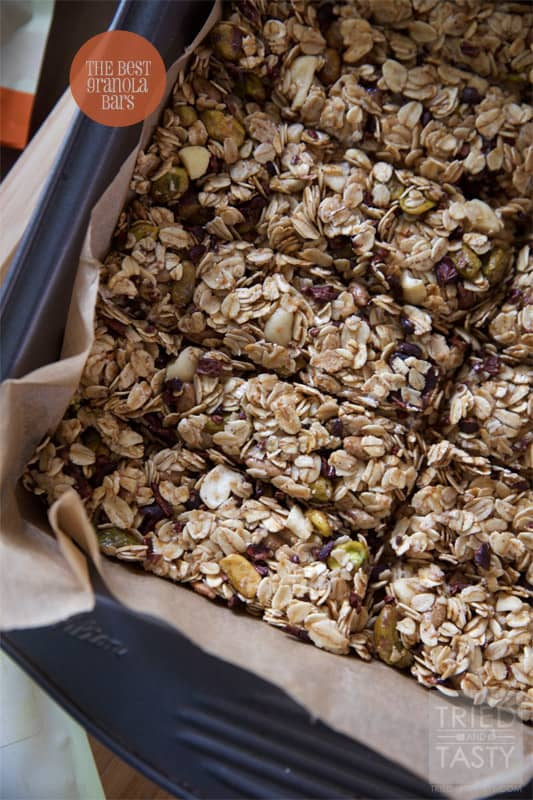 The Best Granola Bars // Tried and Tasty