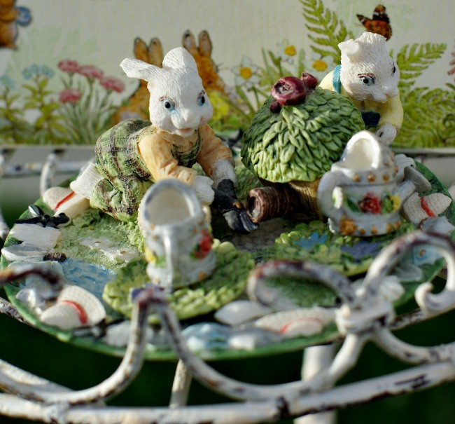 SOME BUNNY IS INVITED TO AN EASTER TEA