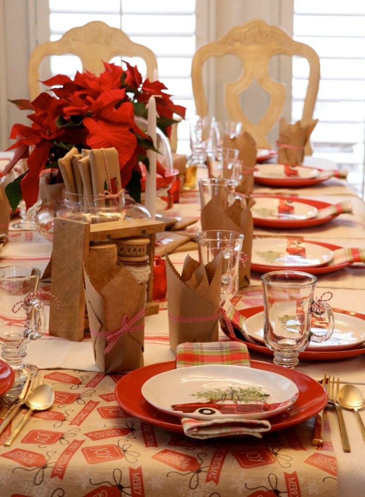 Christmas Tea Party Invitations