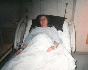 Katrina in the hospital