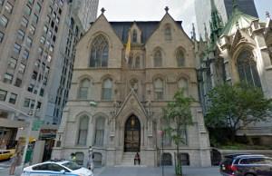 NY archbishop Manhattan mansion