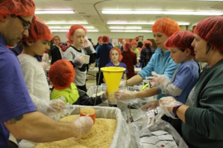 Rise Against Hunger Meal Packing Event – March 21st