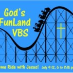 Vacation Bible School – July 9th-12th:  Volunteers Needed
