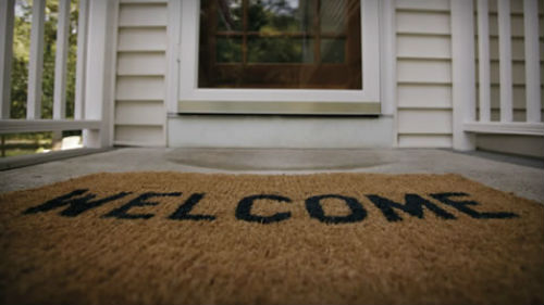 Fling Out The Welcome Mat