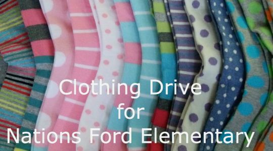 Annual Clothing Drive