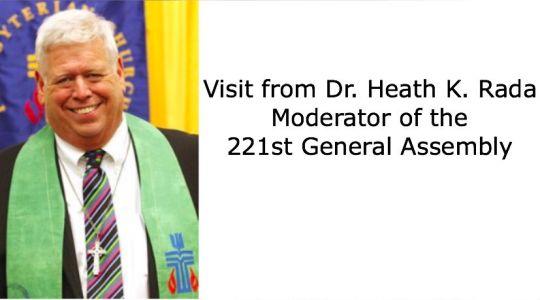 Trinity Welcomes Dr. Heath K. Rada