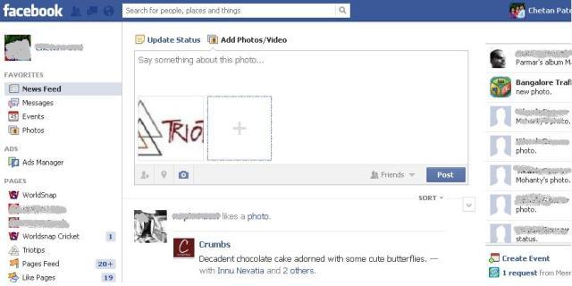 facebook drag and drop photo