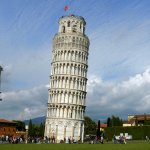 The Pisa tower in Italy