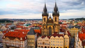 В Прагу за 7 800 рублей из Москвы с Air Serbia!