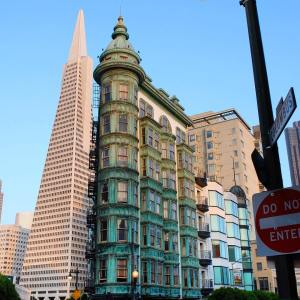 The Transamerica Pyramid in SanFrancisco My home city is hostinghellip