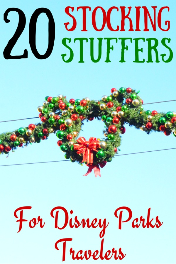 20 Stocking Stuffers for Disney Travelers