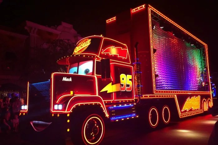 Off Property at Disneyland - Paint the Night Cars
